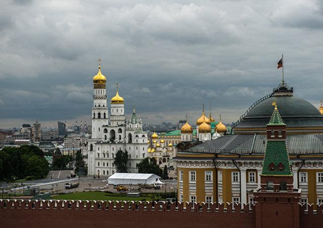Kremlin de Moscú, Rusia (archivo)