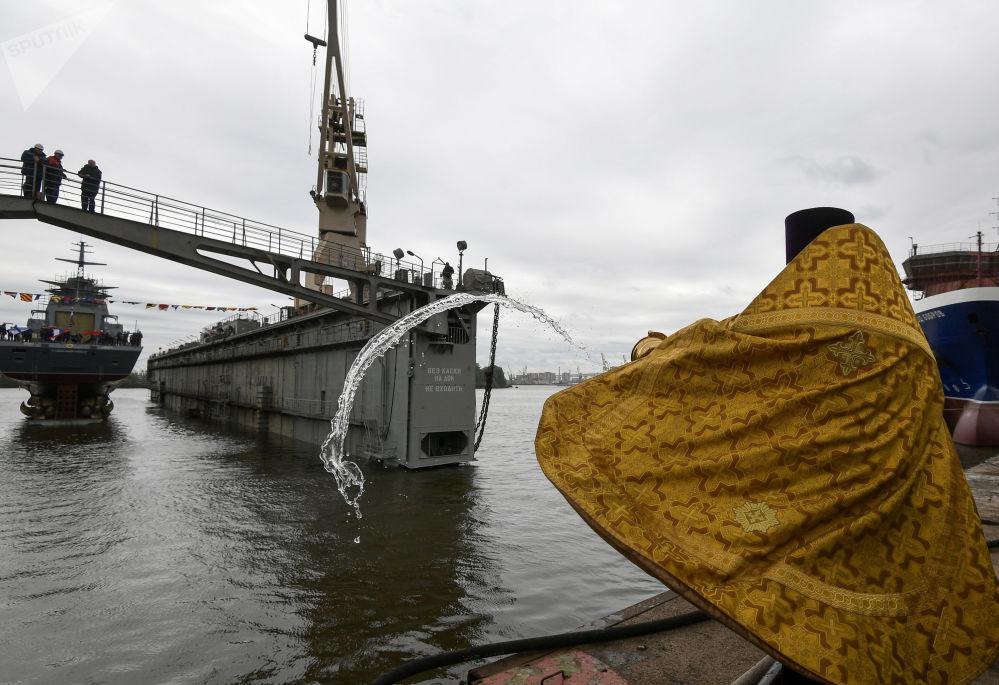 Bienvenido a la familia: la botadura de la corbeta armada con misiles Kalibr