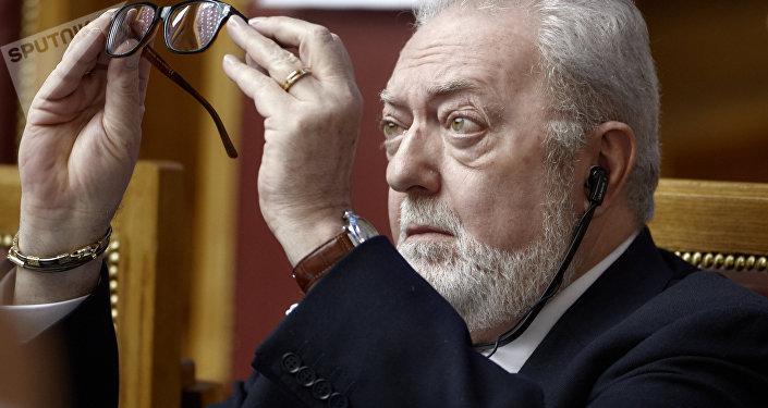 Pedro Agramunt, presidente del Consejo de Europa