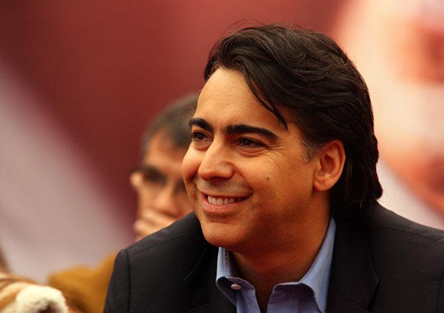 Marco Enríquez-Ominami, el candidato presidencial de Chile