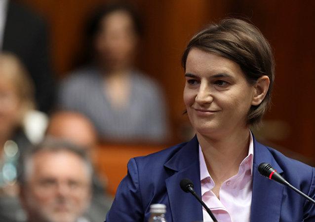 Ana Brnabic, primera ministra de Serbia