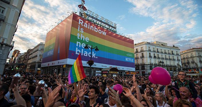 La manifestación del WorldPride en Madrid