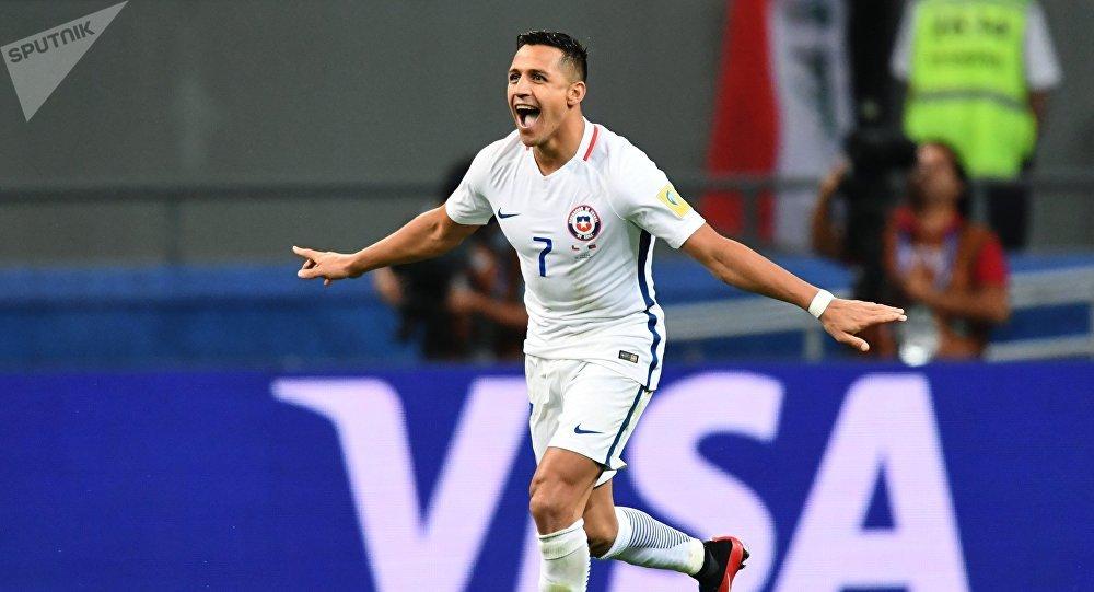 Alexis Sánchеz de la selección de Chile