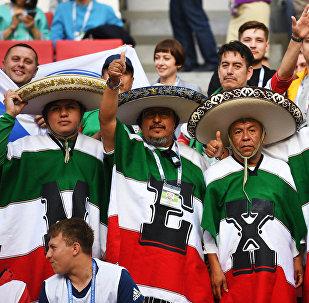 Hinchas de la selección mexicana