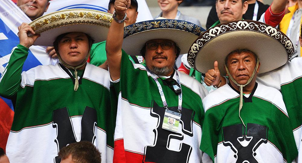 Hinchas de la selección mexicana (archivo)