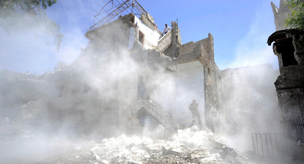 Ataque en Damasco (archivo)