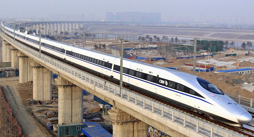 Tren chino de alta velocidad (archivo)
