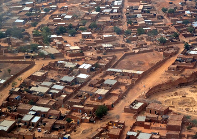 Población en Niger (archivo)