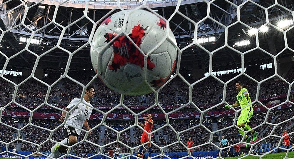 Un gol anotado durante la Copa Confederaciones Rusia 2017