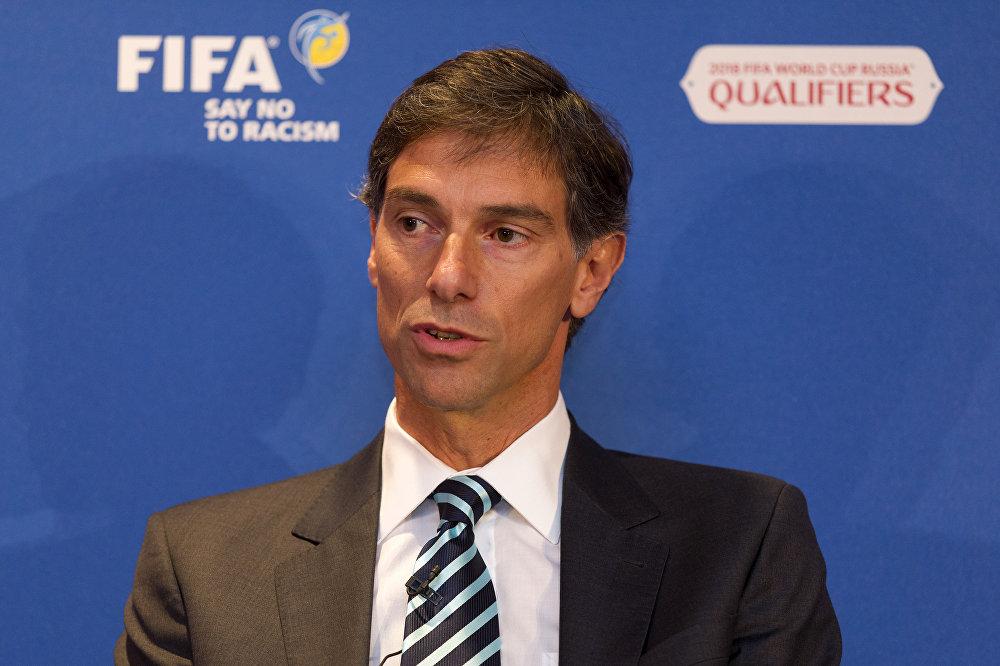 Federico Addiechi, responsable de los programas de responsabilidad social de la FIFA