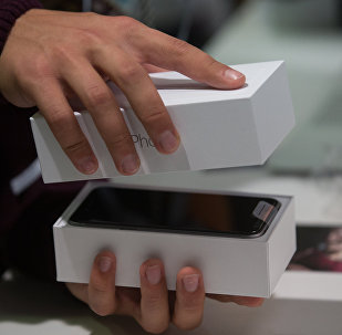 Una caja de iPhone (archivo)