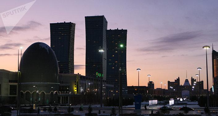 La ciudad kazaja de Astaná (archivo)