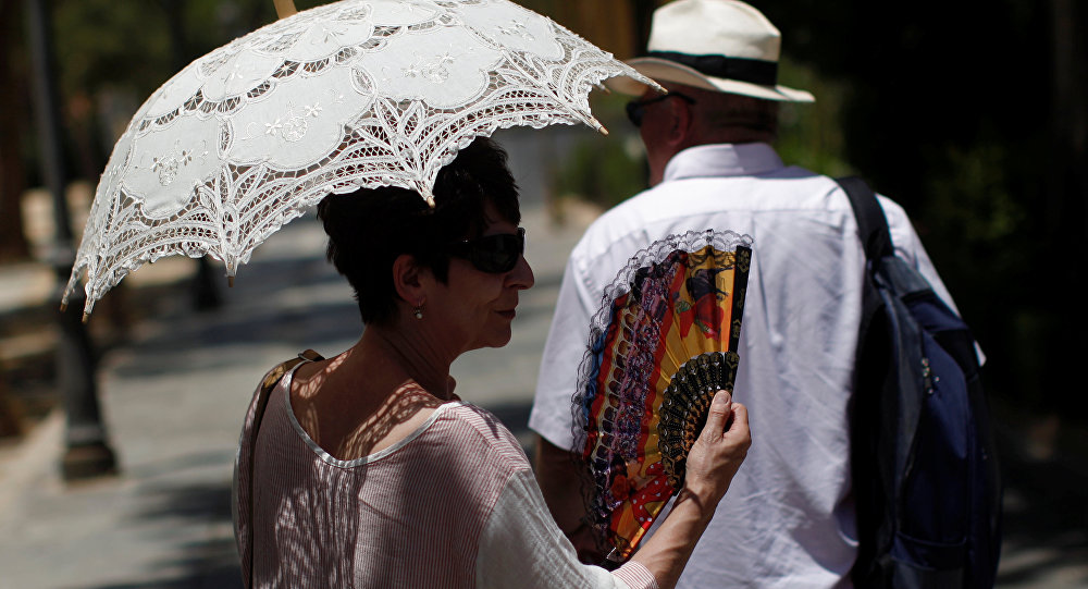 Una turista en España