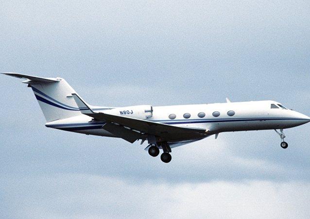 Avión Gulfstream (imagen referencial)