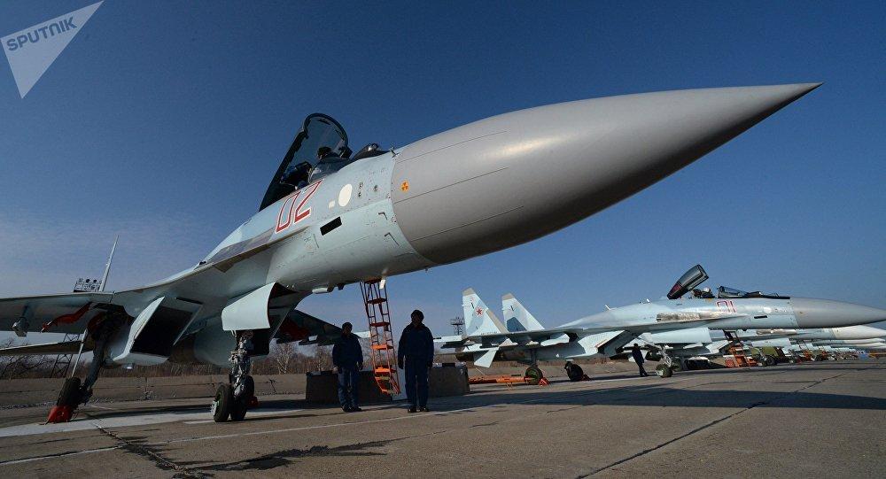 El caza ruso Su-35 (archivo)