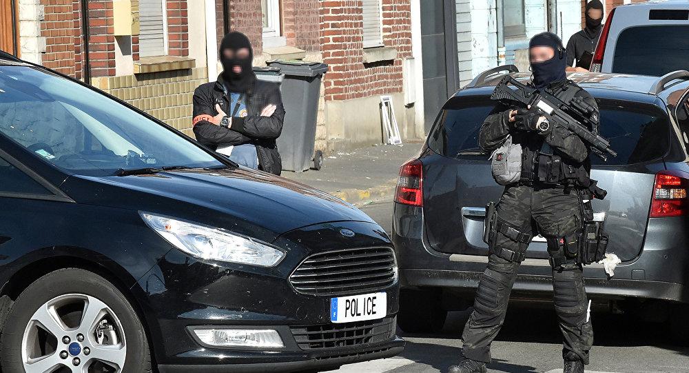 Policía de Francia en Wattignies