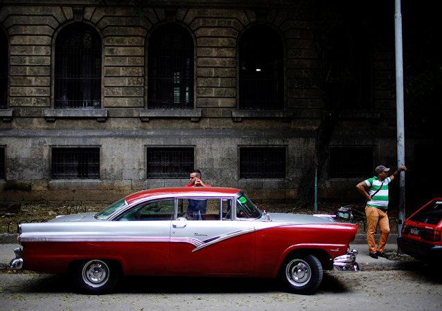Los coches en La Habana, Cuba