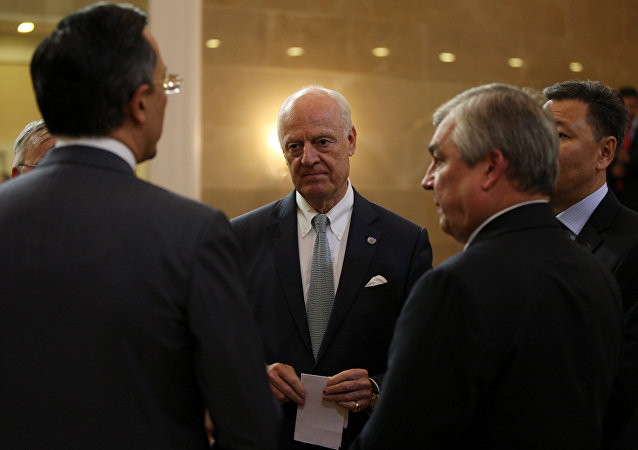 Staffan de Mistura, el enviado especial de la ONU para Siria (archivo)