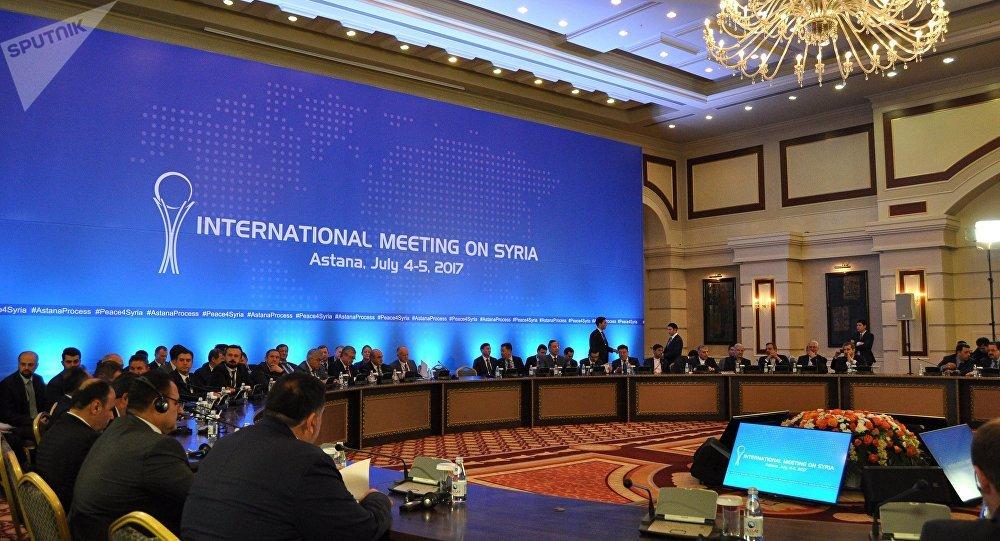 Consultas de Siria en Astaná