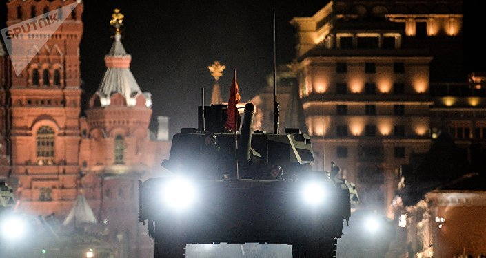El tanque T-14 Armata en el ensayo del 72 aniversario de la victoria sobre el nazismo