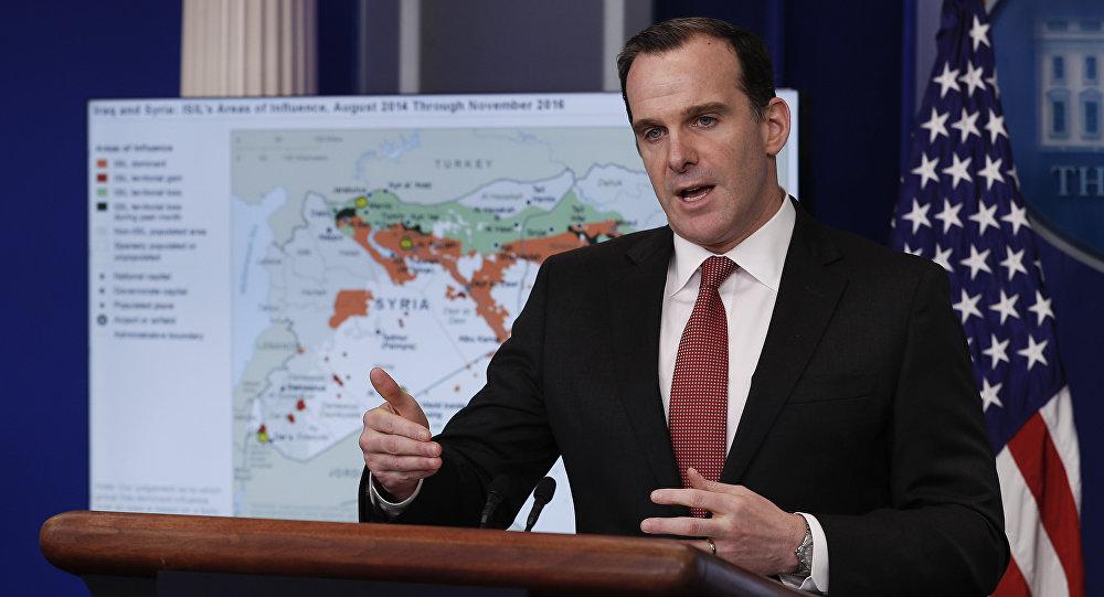 Brett McGurk, enviado de EEUU para la coalición contra el Estado Islámico