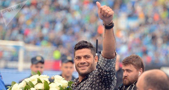 Givanildo 'Hulk' Vieira de Souza, futbolista brasileño