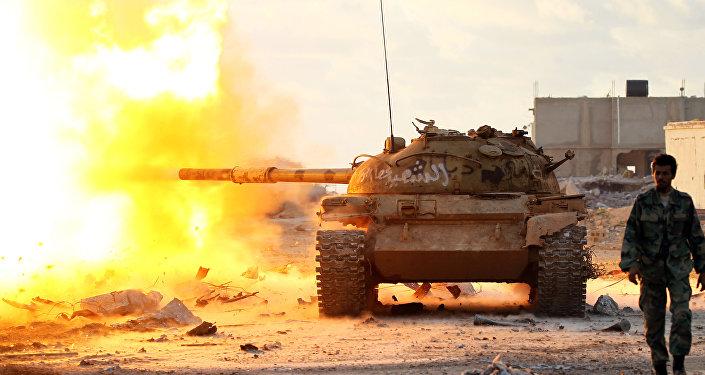 El Ejército Nacional de Libia