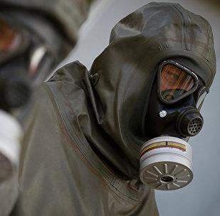 Encuentran equipo para uso de armas químicas en una base terrorista en Siria