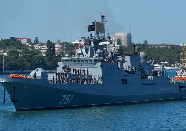 La legendaria fragata rusa que destrozó a Daesh en Siria vuelve a casa