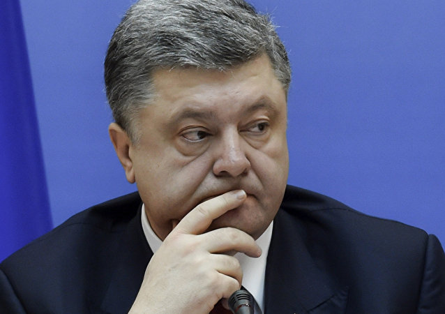 Petró Poroshenko, expresidente de Ucrania