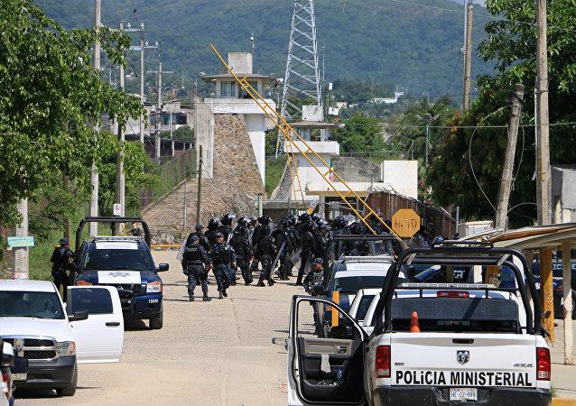Penal de Las Cruces, México