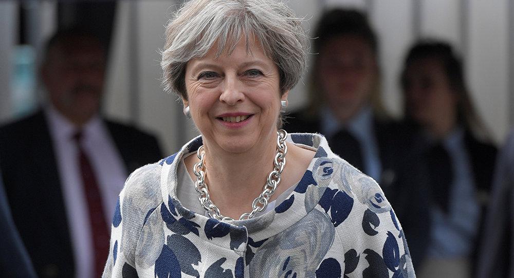 Theresa May, primera ministra de el Reino Unido