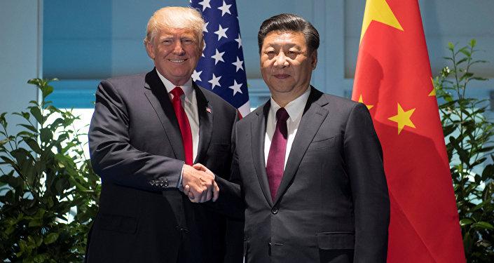 El presidente estadounidense, Donald Trump, y el presidente de China, Xi Jinping