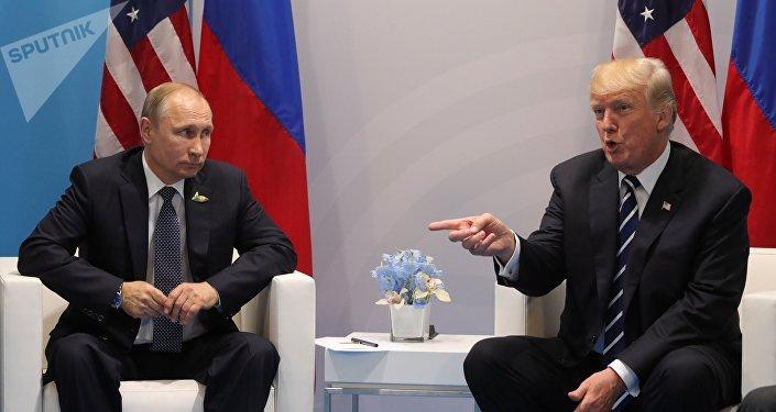 Los presidentes de Rusia y EEUU, Vladímir Putin y Donald Trump (archivo)