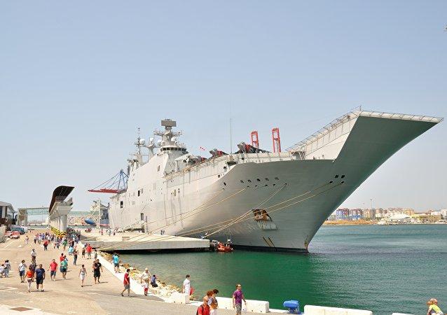 El Juan Carlos I, portaviones que será la base del de Turquía
