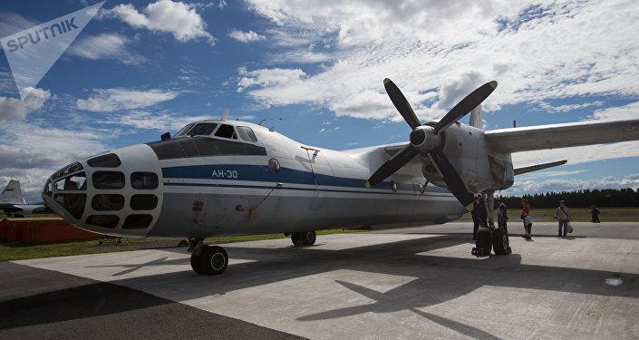 An-30B, avión ruso de vigilancia (imagen referencial)