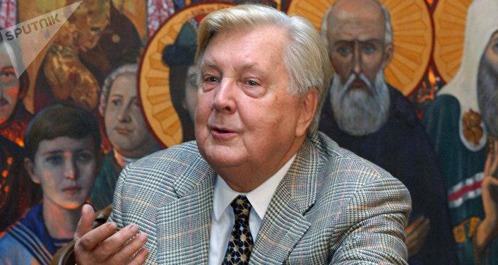 Iliá Glazunov, pintor ruso