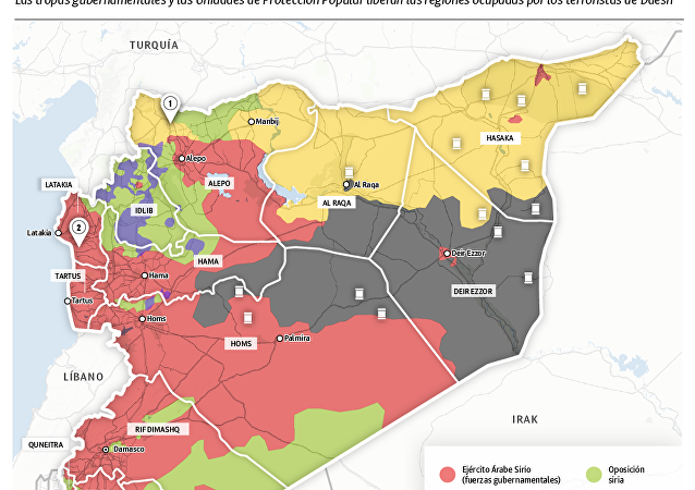 Cómo Siria se libera de los terroristas de Daesh