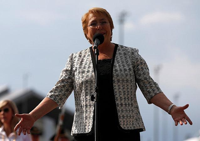 Michelle Bachelet, alta comisionada las Naciones Unidas para los Derechos Humanos (archivo)