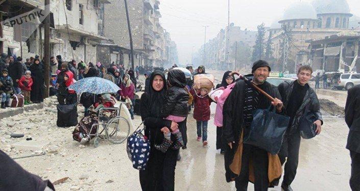 Los habitantes de Alepo (archivo)