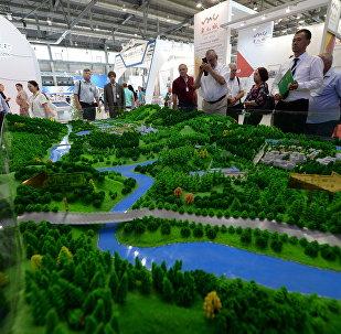 El proyecto de la 'ciudad inteligente' de Rusia, en exposición en la feria industrial Innoprom 2017