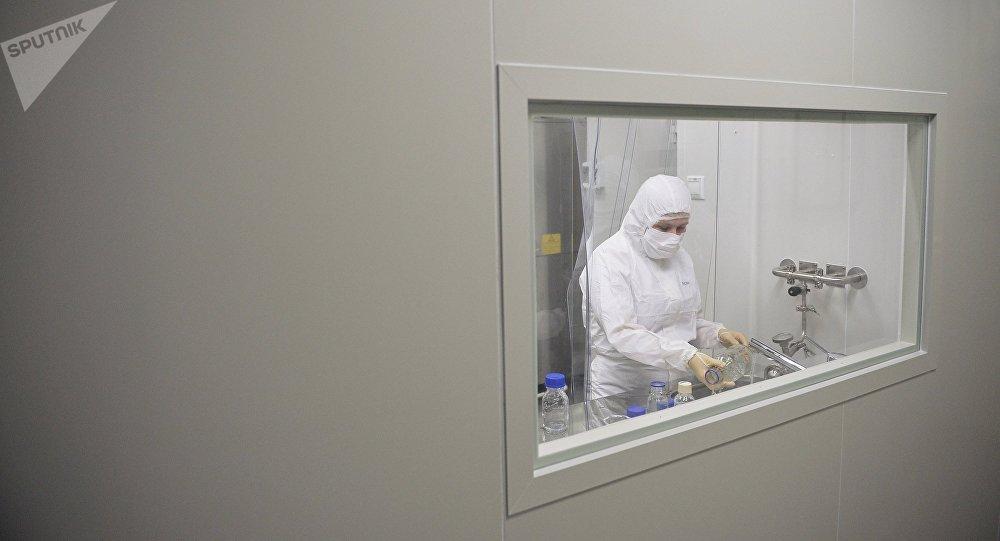 La producción de la vacuna contra ébola (archivo)
