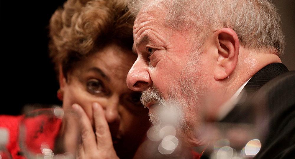 Expresidenta de Brasil, Dilma Rousseff, y expresidente del país, Luiz Inácio Lula da Silva (archivo)
