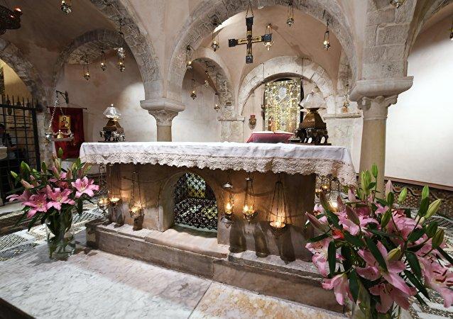 El relicario San Nicolás de Bari en Italia (imagen referencial)