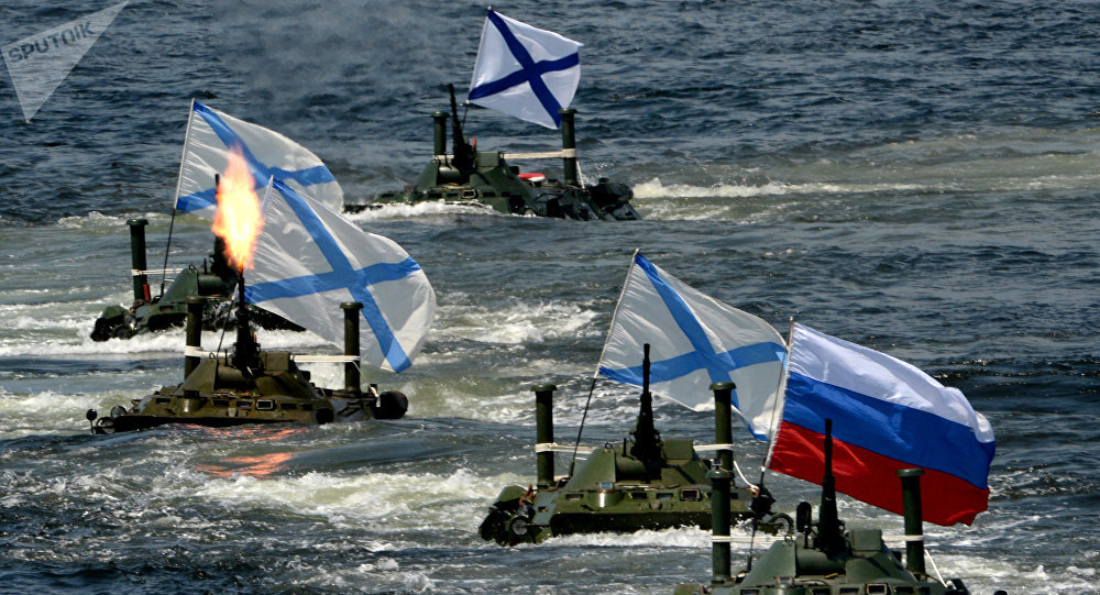 The celebrations of the Day of the Russian Navy (referential image)