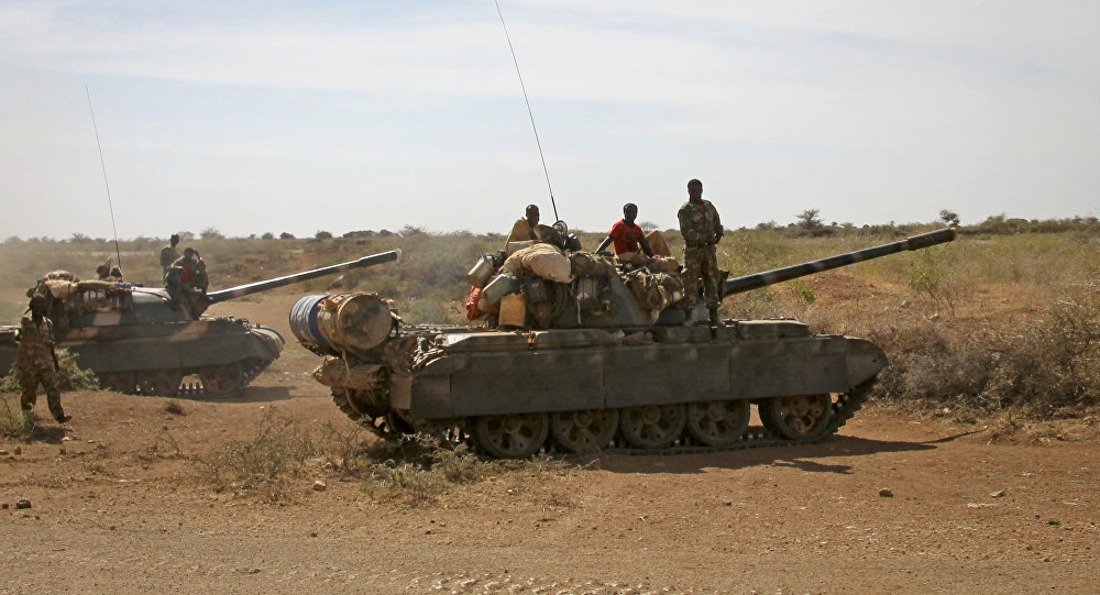 Militares etiopios