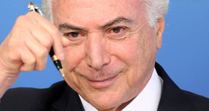 Diputados brasileros decidirán futuro político de Michel Temer