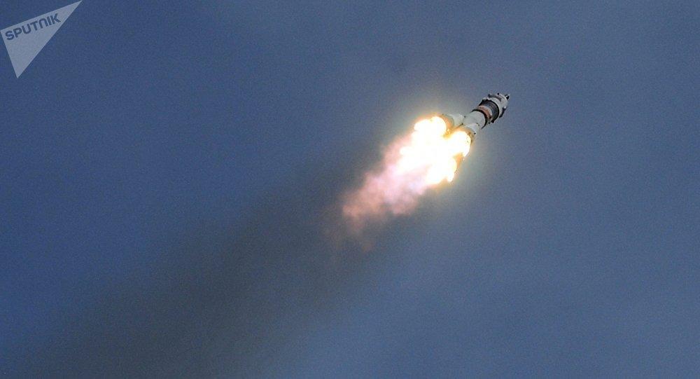 Cohete portador Soyuz (archivo)