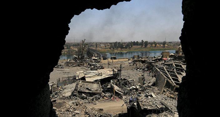 La situación en la Ciudad Vieja de Mosul, Irak (archivo)