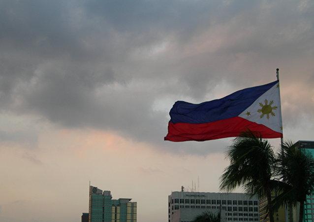 La bandera de Filipinas